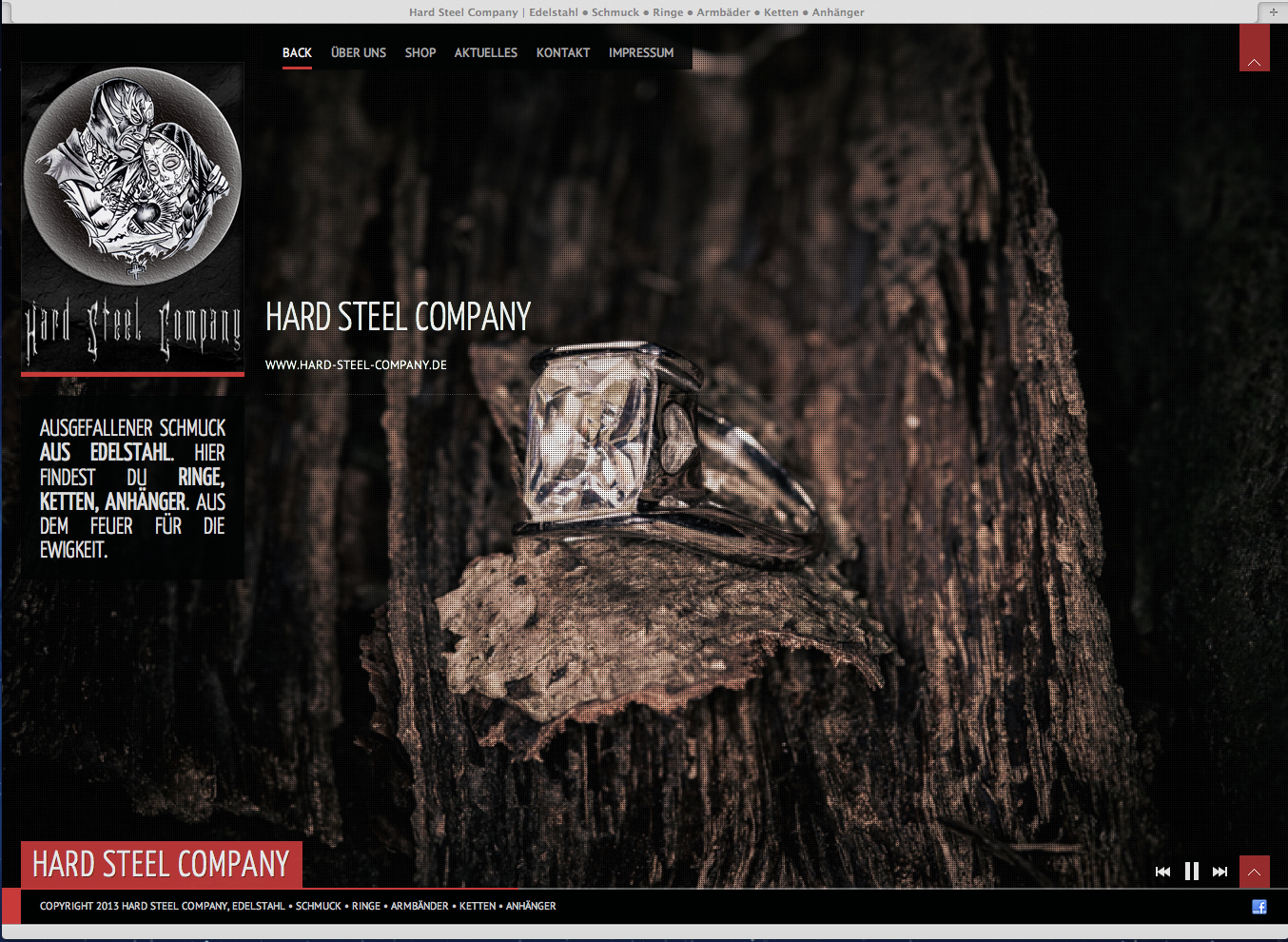 Edelstahlschmuck Hard Steel Company